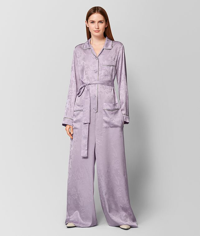 BOTTEGA VENETA LIGHT PARME SILK JUMPSUIT Dress [*** pickupInStoreShipping_info ***] fp