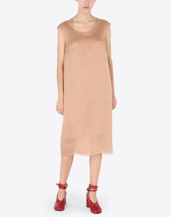 MAISON MARGIELA Silk organza dress Short dress [*** pickupInStoreShipping_info ***] r