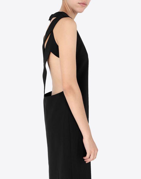 MAISON MARGIELA Décortiqué mixed wool dress Short dress [*** pickupInStoreShipping_info ***] a