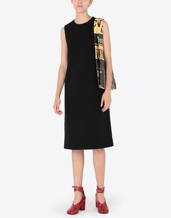 MAISON MARGIELA Décortiqué mixed wool dress Short dress [*** pickupInStoreShipping_info ***] d