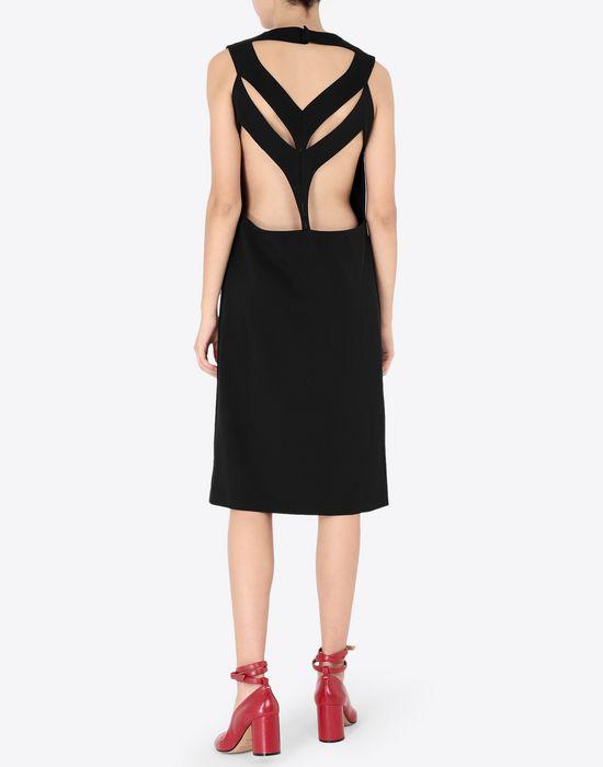 MAISON MARGIELA Décortiqué mixed wool dress Short dress [*** pickupInStoreShipping_info ***] e