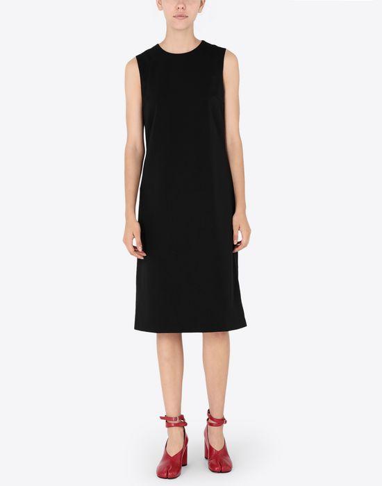 MAISON MARGIELA Décortiqué mixed wool dress Short dress [*** pickupInStoreShipping_info ***] r