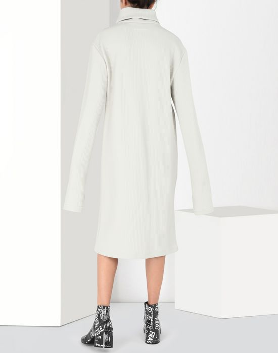 MM6 MAISON MARGIELA Ribbed jersey dress 3/4 length dress [*** pickupInStoreShipping_info ***] d