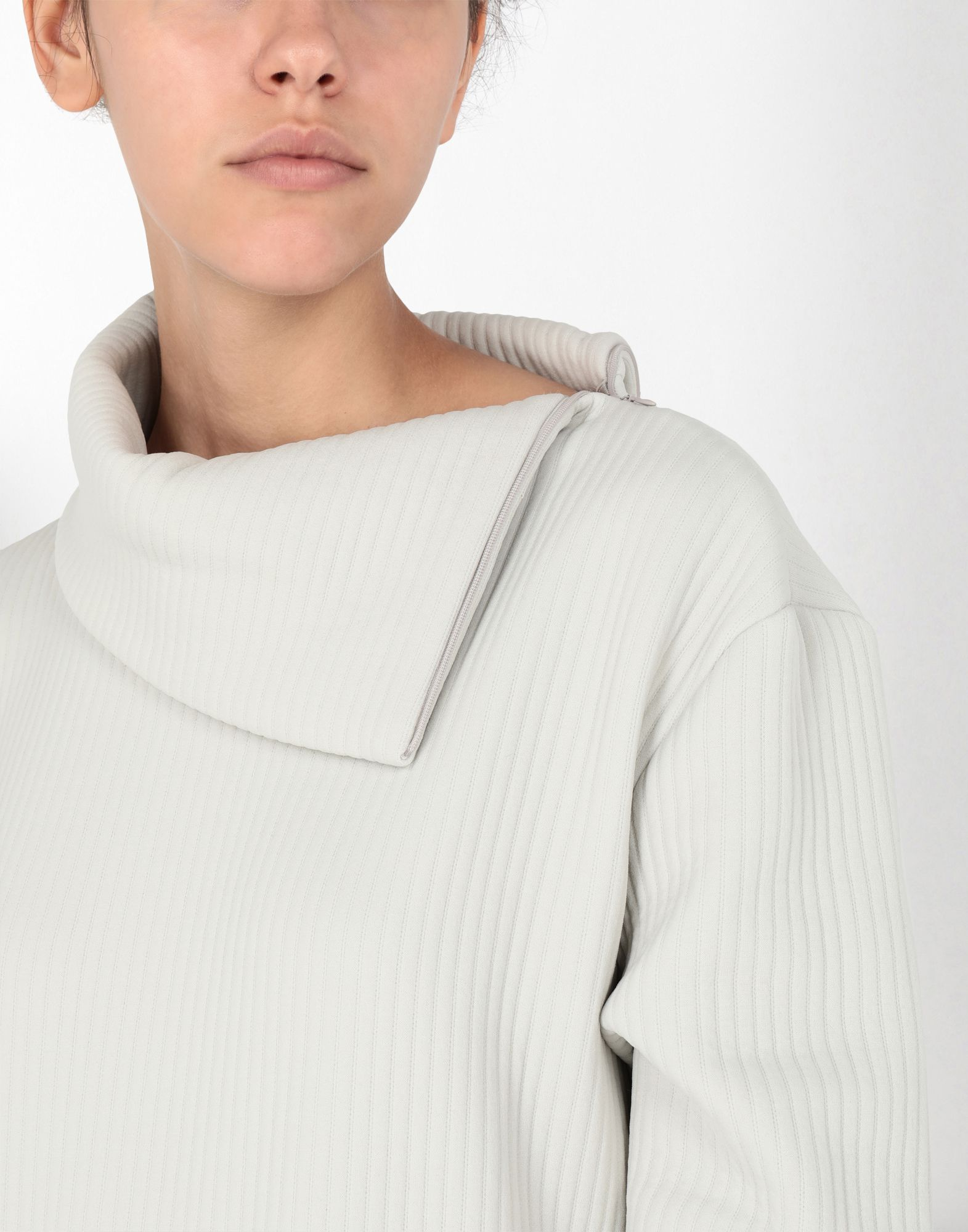 MM6 MAISON MARGIELA Ribbed jersey dress 3/4 length dress Woman e