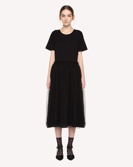 REDValentino Dress Woman QR3MJ08H3YR 0NO f