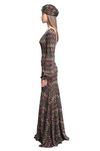 MISSONI Long dress Woman, Side view