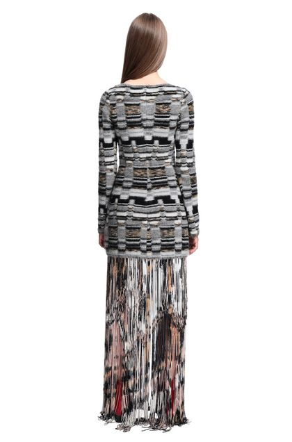 MISSONI Minidress Grey Woman - Front