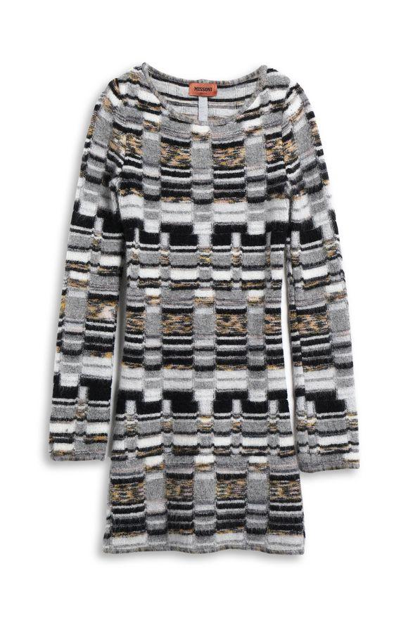 MISSONI Minidress Grey Woman