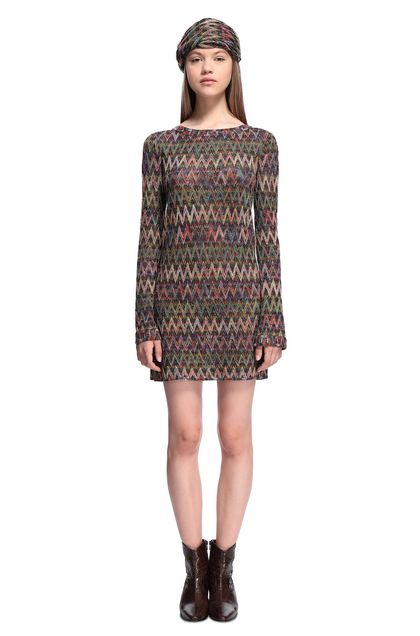 MISSONI Minidress Maroon Woman - Back