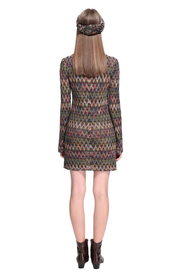 MISSONI Minidress Woman, Rear view
