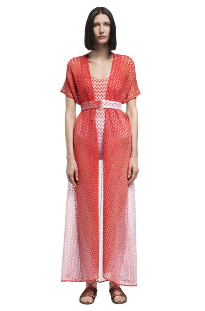 MISSONI MARE Kaftan Orange Woman - Back