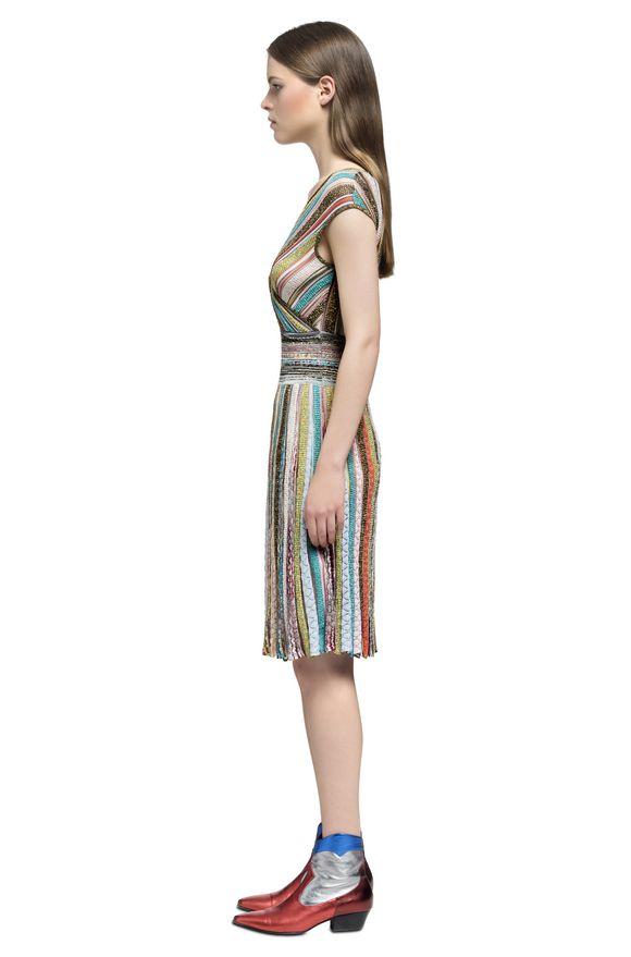MISSONI Kleid Damen, Seitenansicht