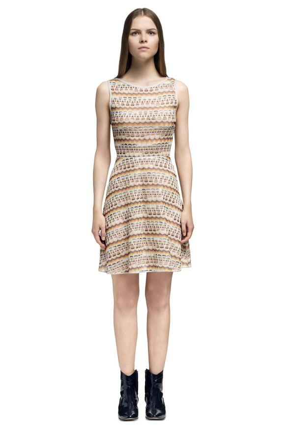 MISSONI Dress Beige Woman