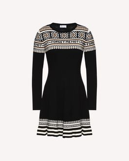 REDValentino Dress Woman QR3VA09Z3UG 0NO a