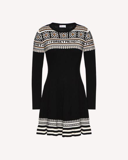 REDValentino Robe en tricot Femme QR0KD06H468 0NO a