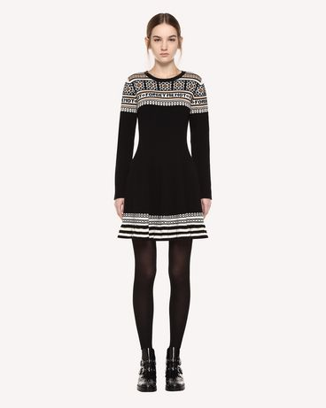 REDValentino QR0KD06H468 0NO Knit Dress Woman f