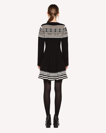 REDValentino QR0KD06H468 0NO Knit Dress Woman r