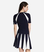 KARL LAGERFELD Contrast Paneled Dress 9_f