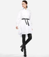 KARL LAGERFELD Hemdblusenkleid mit Plisseeeinsatz 9_f