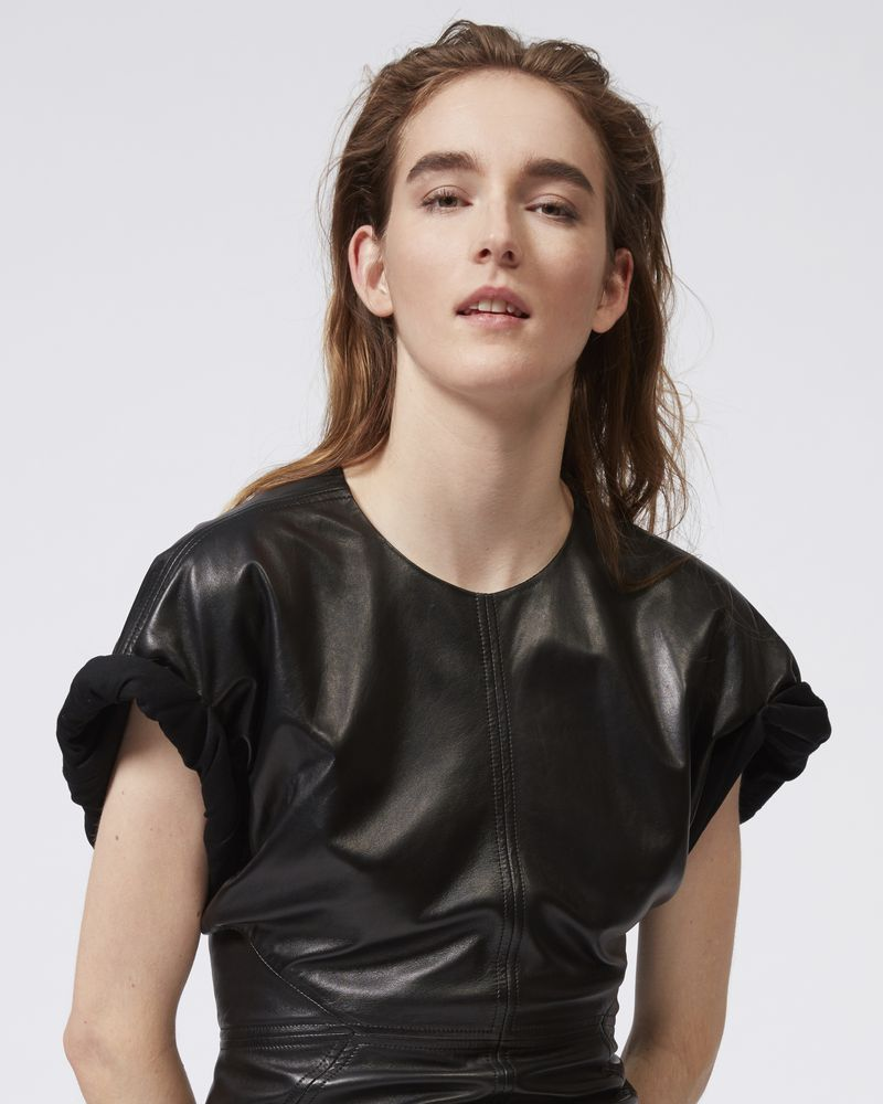 COSTA leather dress ISABEL MARANT