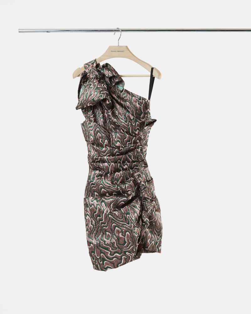 SYNEE dress in lurex jacquard ISABEL MARANT