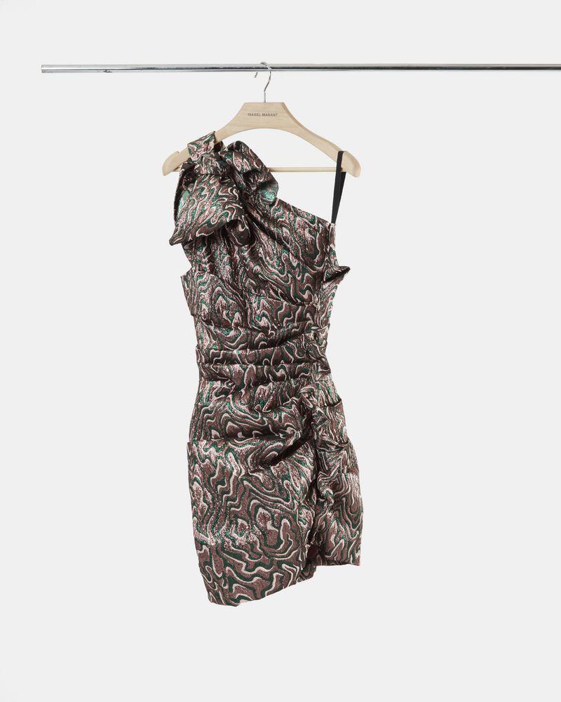 SYNEE dress in lurex jacquard ISABEL MARANT