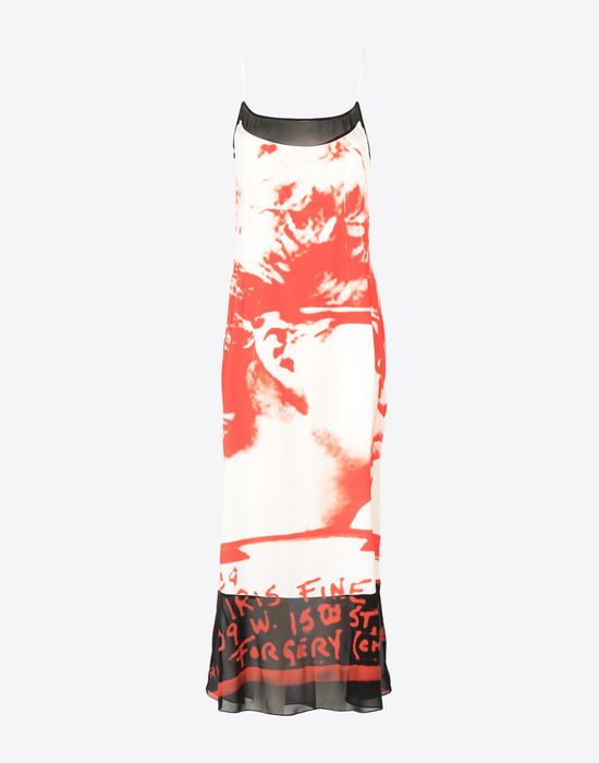 MAISON MARGIELA Mugshot printed dress Long dress [*** pickupInStoreShipping_info ***] f