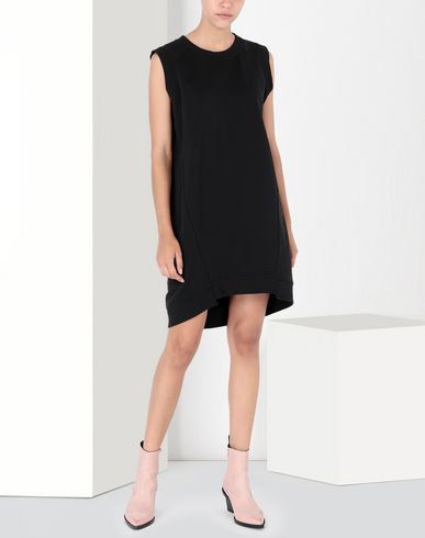 MM6 MAISON MARGIELA Short dress Woman Asymmetrical jersey dress f