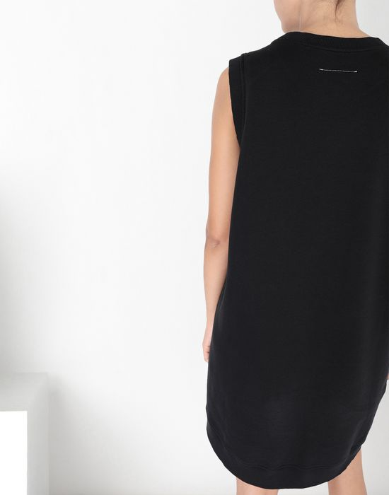 MM6 MAISON MARGIELA Asymmetrical jersey dress Short dress [*** pickupInStoreShipping_info ***] a