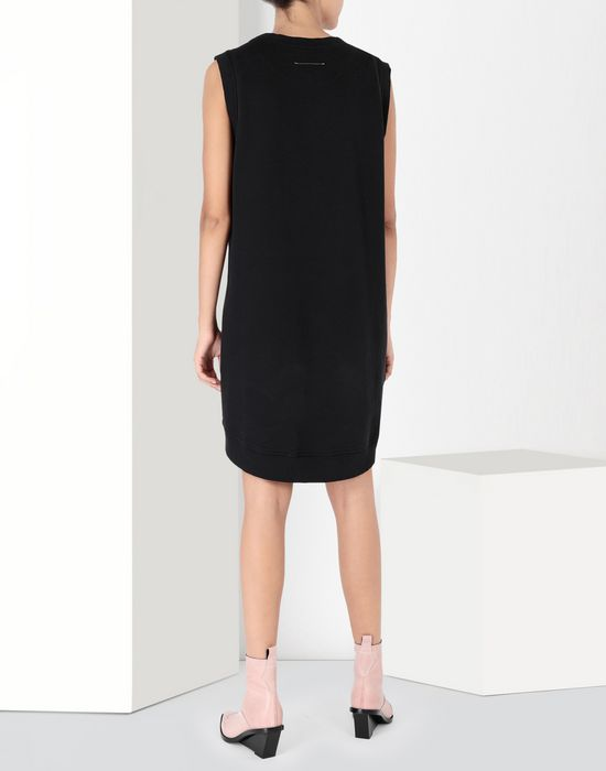 MM6 MAISON MARGIELA Asymmetrical jersey dress Short dress [*** pickupInStoreShipping_info ***] d