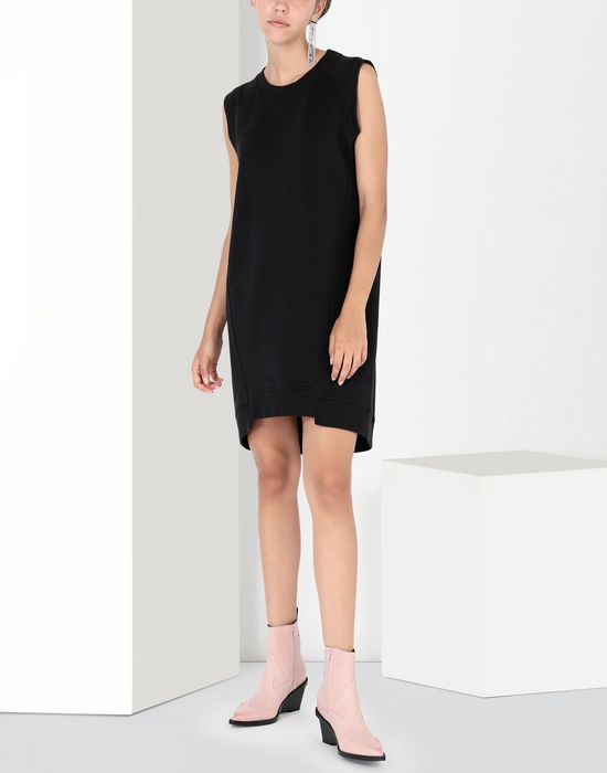 MM6 MAISON MARGIELA Asymmetrical jersey dress Short dress [*** pickupInStoreShipping_info ***] r