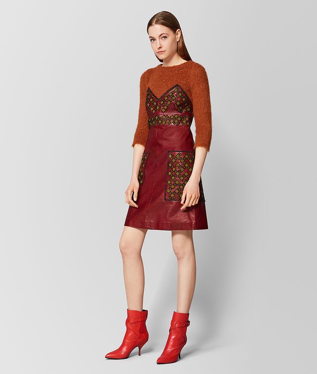 BOTTEGA VENETA MULTICOLOR MOHAIR/LAMB DRESS Dress [*** pickupInStoreShipping_info ***] fp