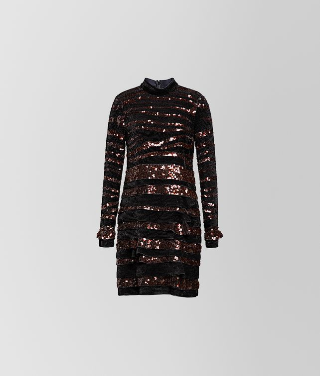BOTTEGA VENETA NERO SILK DRESS Dress [*** pickupInStoreShipping_info ***] fp