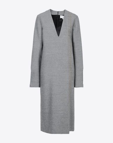 MAISON MARGIELA Long dress Woman Décolleté long dress f