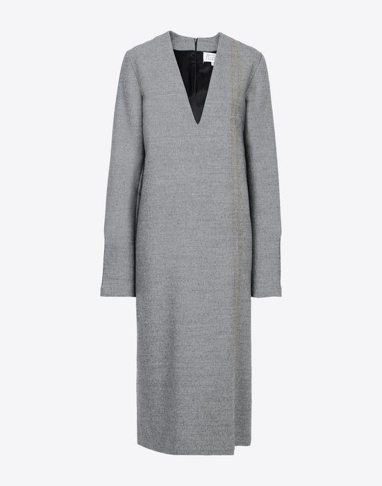 MAISON MARGIELA Décolleté long dress Long dress [*** pickupInStoreShipping_info ***] f
