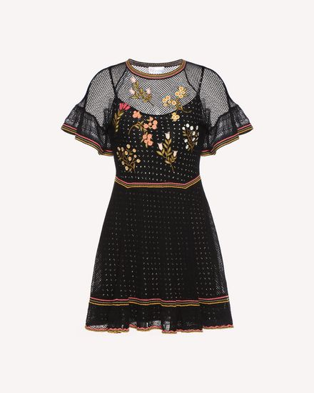 REDValentino Dress Woman QR3KD0Y43VS 0NO a