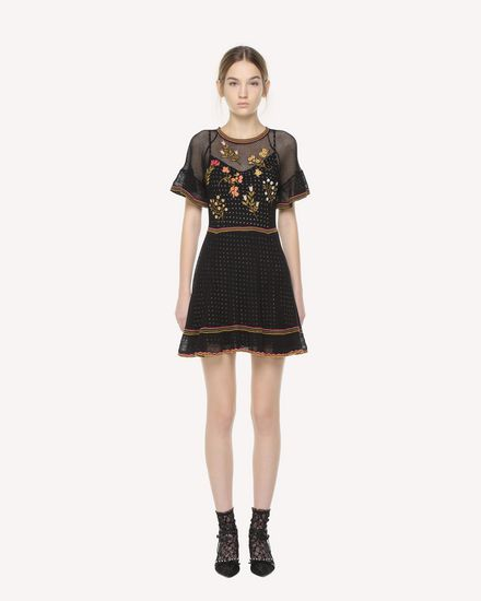 REDValentino Dress Woman QR3KD0Y43VS 0NO f