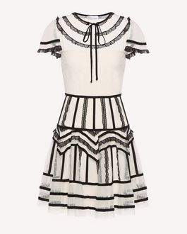 REDValentino Short dress Woman QR3VA7F83TG 0NA a