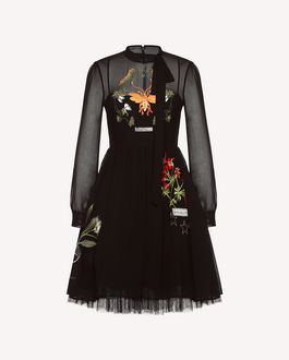 REDValentino Dress Woman QR3KD0Y73W2 0NO a