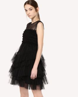 REDValentino Flounced Tulle dress