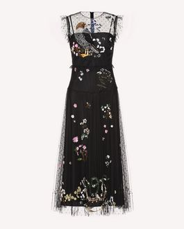 REDValentino Dress Woman QR3MJ08W40M 0NO a