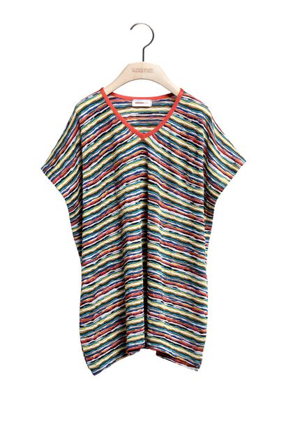 MISSONI KIDS Kaftan Deep jade Woman - Back