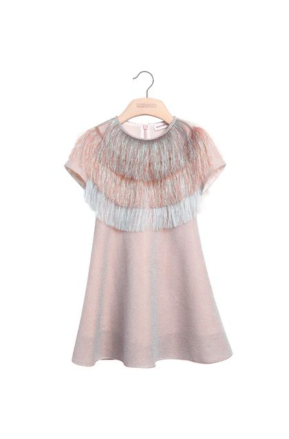 MISSONI KIDS Dress Light pink Woman - Back
