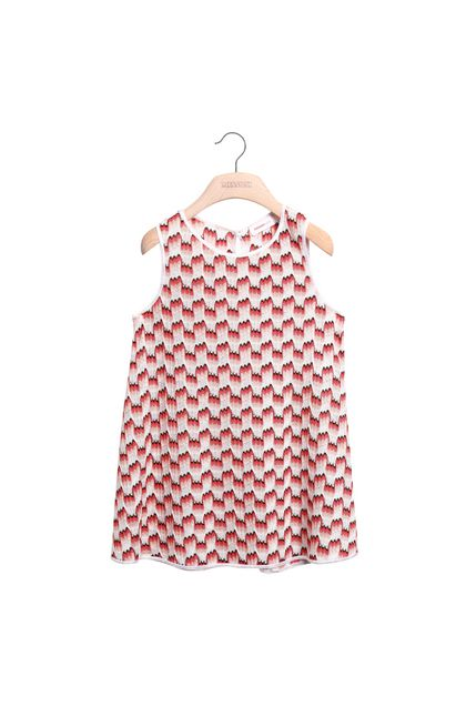MISSONI KIDS Dress Coral Woman - Back
