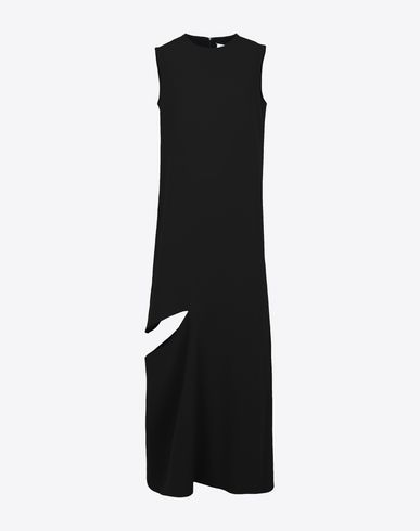 MAISON MARGIELA Long dress Woman Slashed long dress f