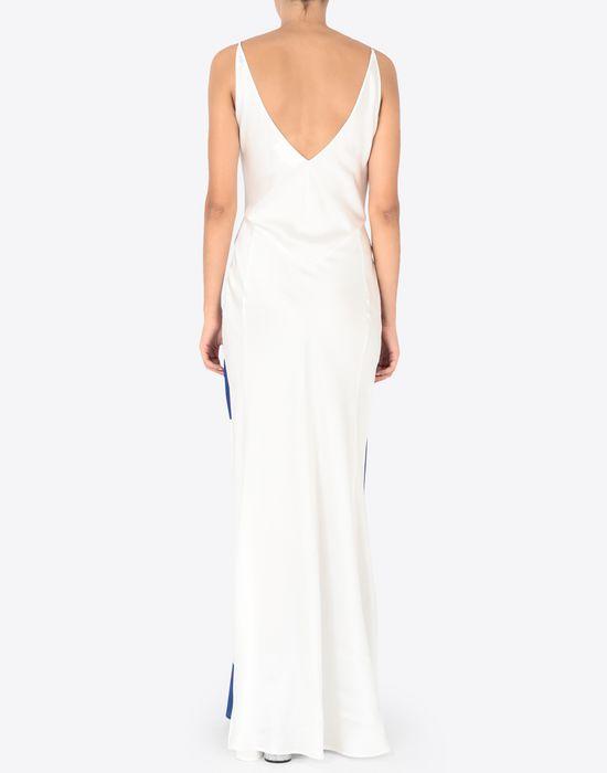 MAISON MARGIELA Silk Vitamin print dress Long dress [*** pickupInStoreShipping_info ***] e
