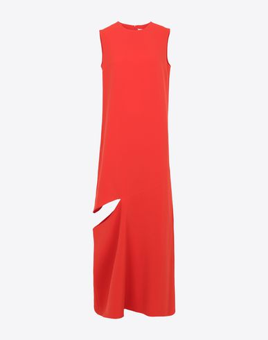 MAISON MARGIELA Long dress Woman Long dress with slash detail f