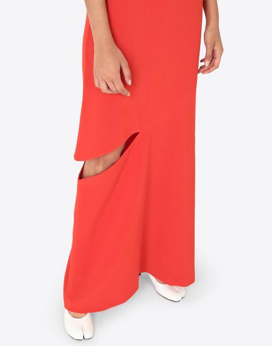 MAISON MARGIELA Long dress with slash detail Long dress [*** pickupInStoreShipping_info ***] b