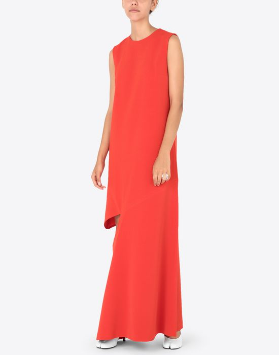 MAISON MARGIELA Long dress with slash detail Long dress [*** pickupInStoreShipping_info ***] d