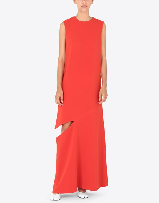 MAISON MARGIELA Long dress with slash detail Long dress [*** pickupInStoreShipping_info ***] r